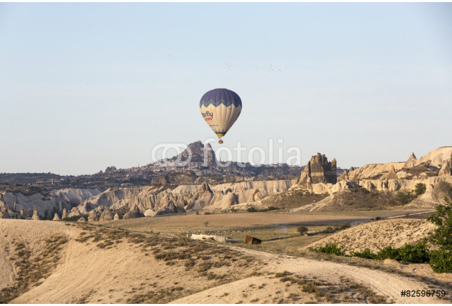 tourist attraction of Cappadocia , the flight with the balloon 64239