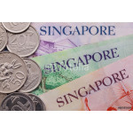 Singapore banknotes and coins 64239
