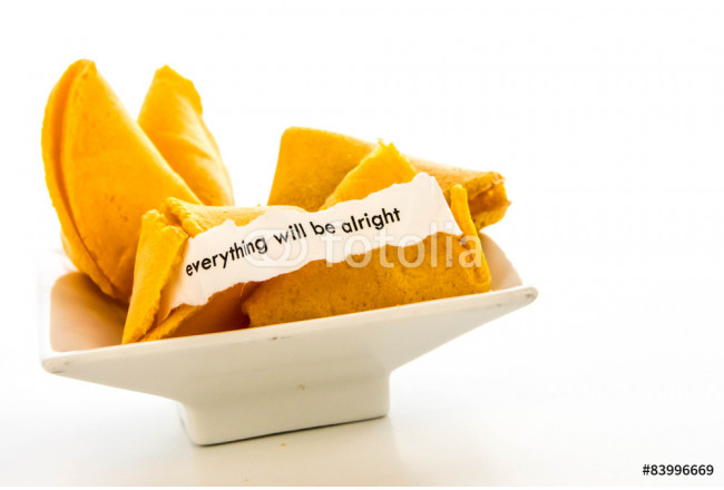 open fortune cookie - EVERYTHING WILL BE ALRIGHT 64239