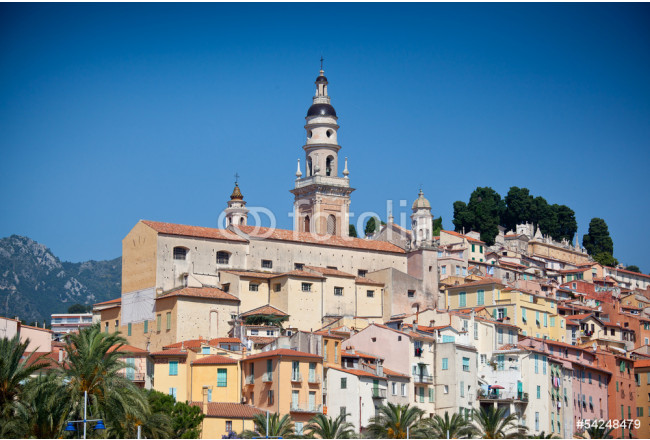 View of old town, Menton 64239