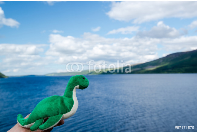 Art painting Nessie: The Loch Ness Monster 64239