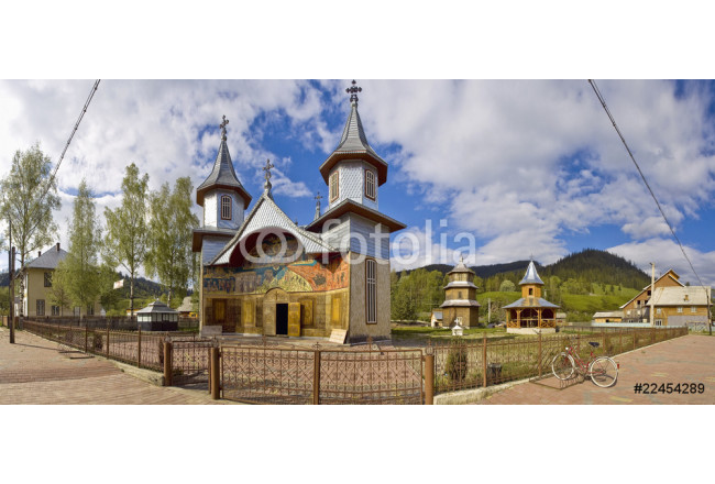 Carlibaba, traditional church of northern Romania 64239