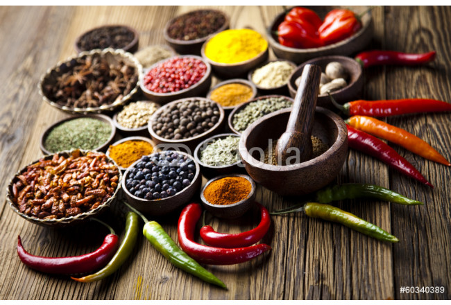 Painting Spices and herbs 64239