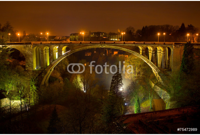 Old bridge in Luxembourg 64239