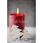 Christmas candles and lights. Christmas background. 64239