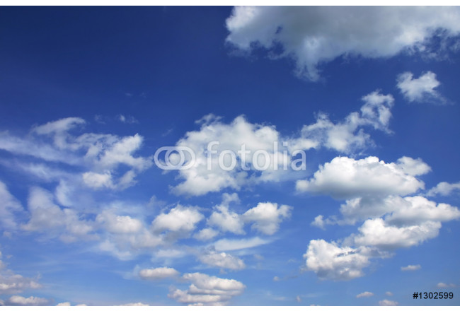 blue sky with clouds 64239