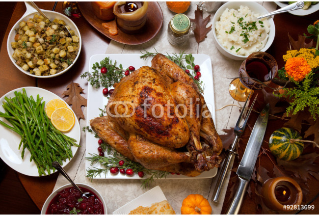 Rustic Thankgiving Dinner 64239