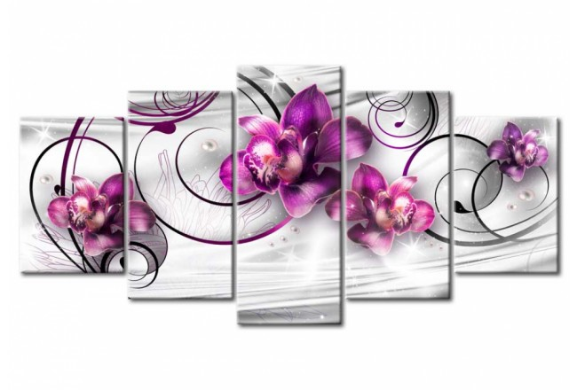 Orchids and Pearls [Glass] 92539 additionalImage 1