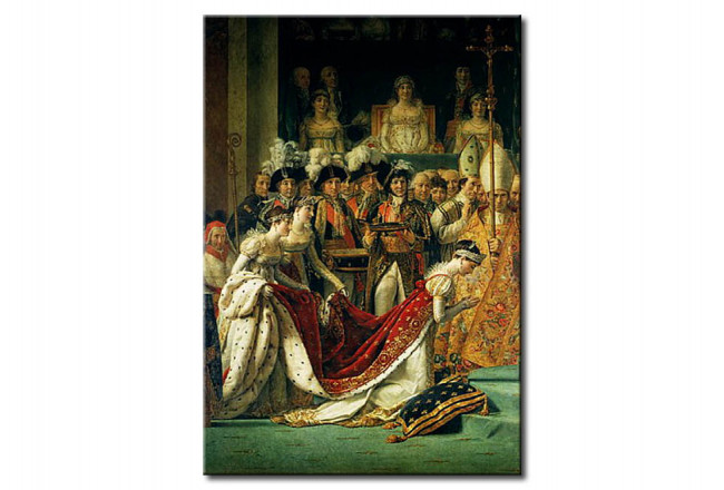 Art Reproduction The Consecration of the Emperor Napoleon 110349