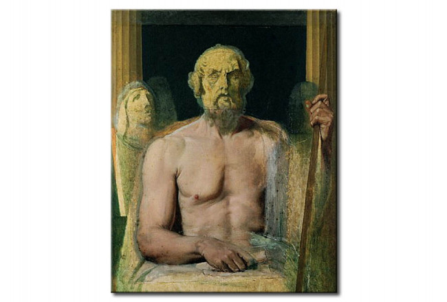 Art Reproduction Homer, study for The Apotheosis of Homer 51849