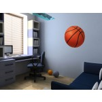 Wandaufkleber bunt Sport: Basketball 90749 additionalThumb 1