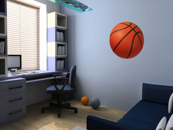Wall Decal Sport: basketball 90749 additionalImage 1