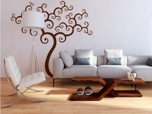 Autocollant mural Tree (abstract) 91549 additionalImage 1