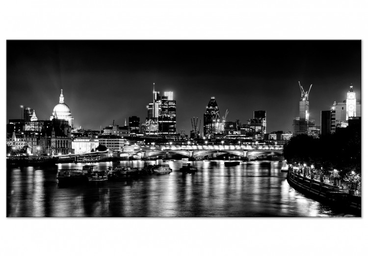 London Lights (1 Part) Black and White