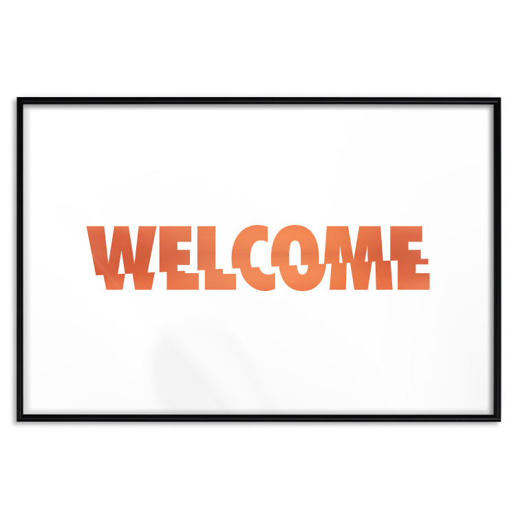Welcome [Deco Poster - Copper]