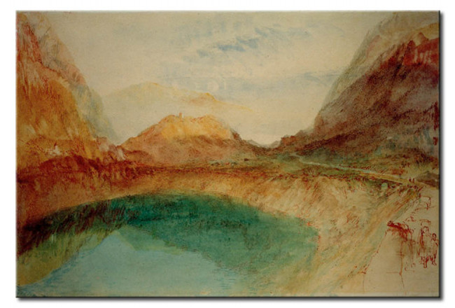 Art Reproduction Lake in the Swiss Alps 52859