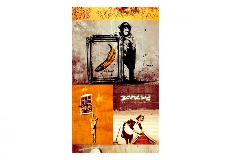 Collage - Banksy