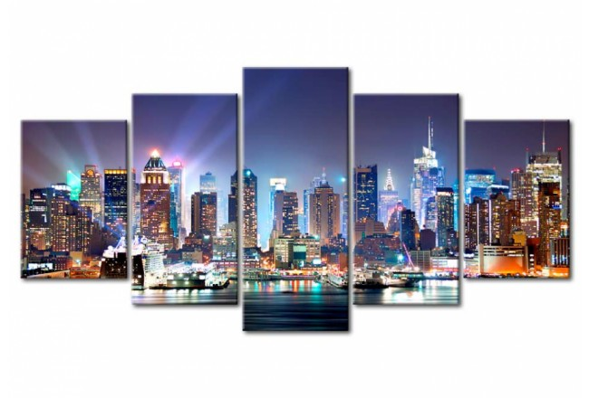 The City under Floodlights [Glass] 92359 additionalImage 1
