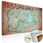 Hamburg [Cork Map] 92189