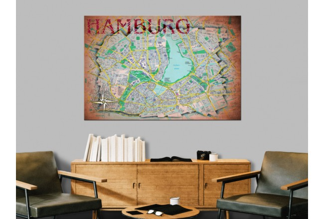 Hamburg [Cork Map] 92189 additionalImage 5