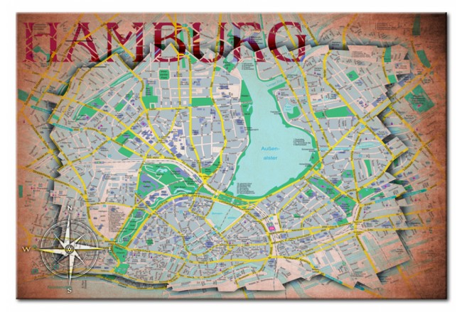 Hamburg [Cork Map] 92189 additionalImage 1